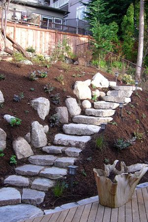 Garden Design On Steep Slopes 38 best steep slopes images on pinterest | backyard ideas