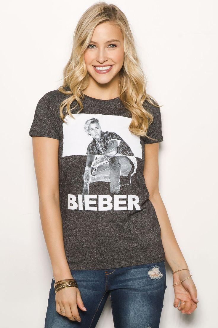 'Justin Bieber' Licensed Graphic Tee $19.99