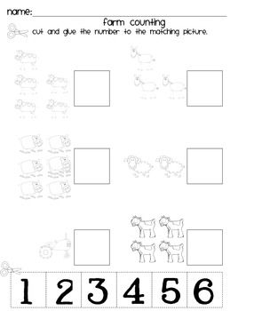 This is a simple farm counting worksheet.  Great for students who need a little extra practice with counting and identify small quantities.If you like this worksheet make sure to check out my farm unit!The Graphics used were by scrappin doodles.  You can find them at www.scrappindoodles.com.