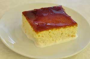 Karamelli Trileçe Tatlısı Tarifi - Resimli Kolay Yemek Tarifleri