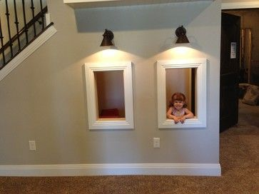 Cute Under The Stairs Play Area For The Girls Room