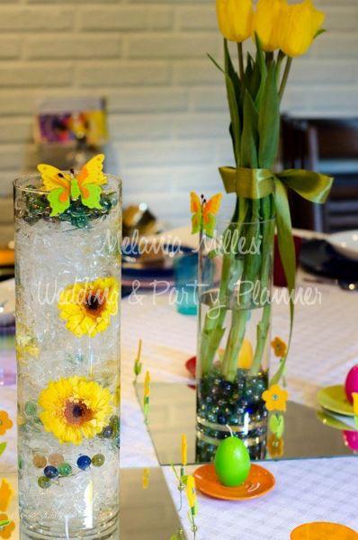 Pasqua - Easter Centrotavola Allestimenti ... Wedding e Party Planner Catania Melania Millesi http://www.melaniamillesi.it/