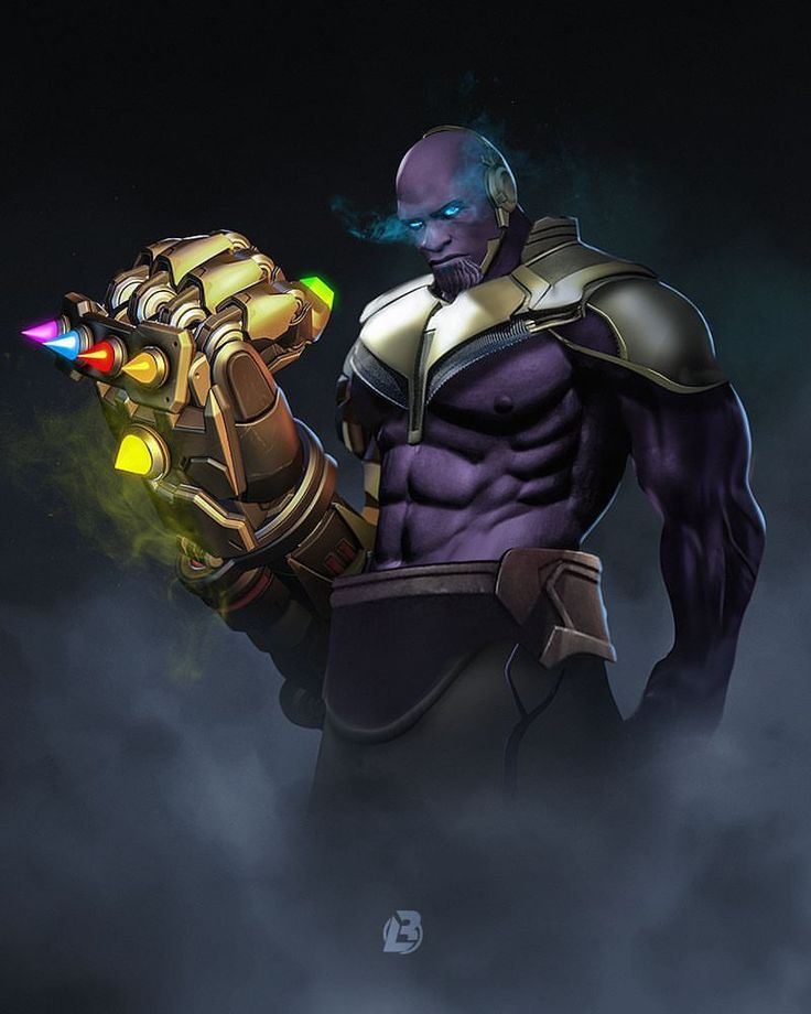 "7,965 Likes, 76 Comments - Bosslogic (@bosslogic) on Instagram: ""Doom-Gauntlet @playoverwatch"" #Doomfist #Thanos #Mashup"