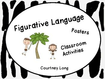 Struggling to find figurative language activities that keep students engaged?  Well look no further!Included types of figurative language: simile, metaphor, hyperbole, idiom, personfication, alliteration, onomatopoeia.Included-posters for your classroom (7 total)-student notes page : space for the definition, space for your students to create their own example, space for an illustration (7 total)-activities for your students to do (7 total)-independent reading sheet (1)-quiz (1)
