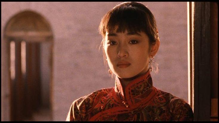 Gong Li in Raise The Red Lantern directed by Zhang Yimou