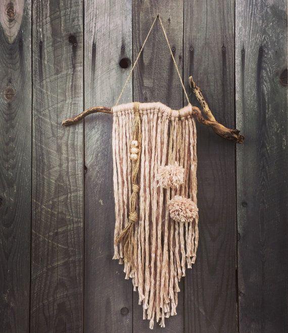Boho Yarn Wall Hanging Home Decor Tassel Wind Chime Yarn Home Decor