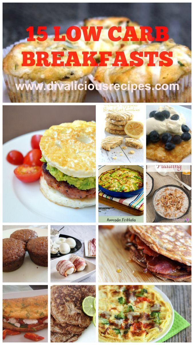 15 tasty low-carb breakfast ideas from Divalicious Recipes (and thanks for the shout-out!)