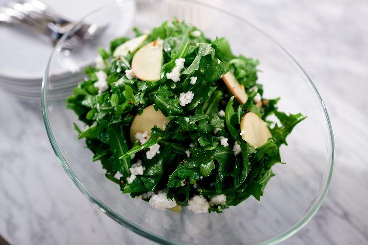 Giada's Smokey Arugula and Apple Salad | Giada De Laurentiis
