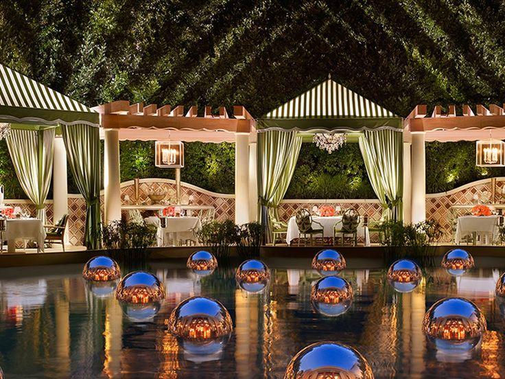The most romantic restaurants in Las Vegas. Las vegas