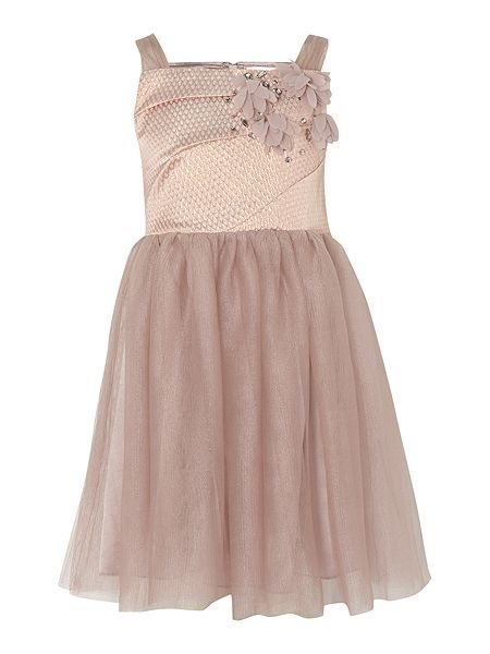 Girls bodice dress