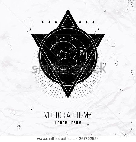 Best 25 oracle logo ideas on pinterest zelda classic zelda and vector geometric alchemy symbol with eye moon shapes abstract occult and mystic signs fandeluxe Images