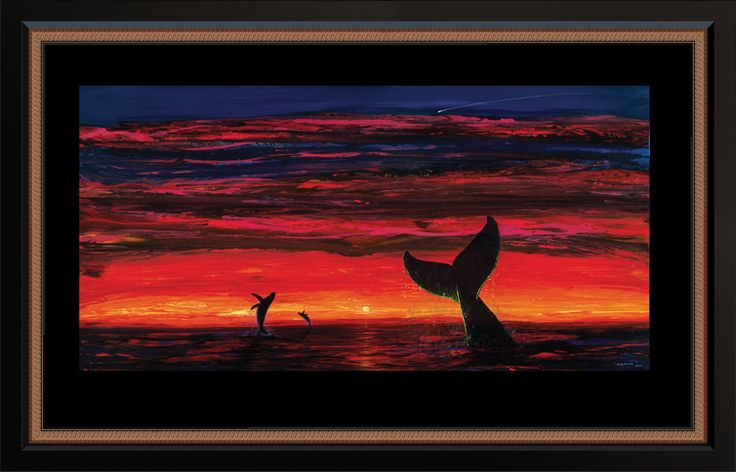 Wyland Forever Whales. Water Gallery second quarter 2015 sparkling water image. #mywatergallery