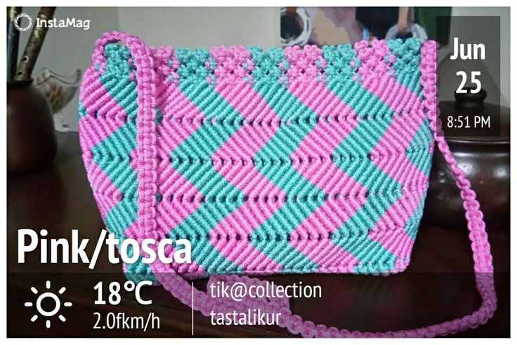 Bag #pinktosca