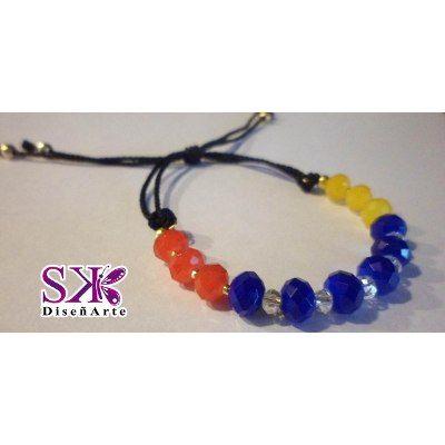 Bisutería Tricolor D Venezuela (collares,pulseras,zarcillos) - BsF 200,00 en MercadoLibre