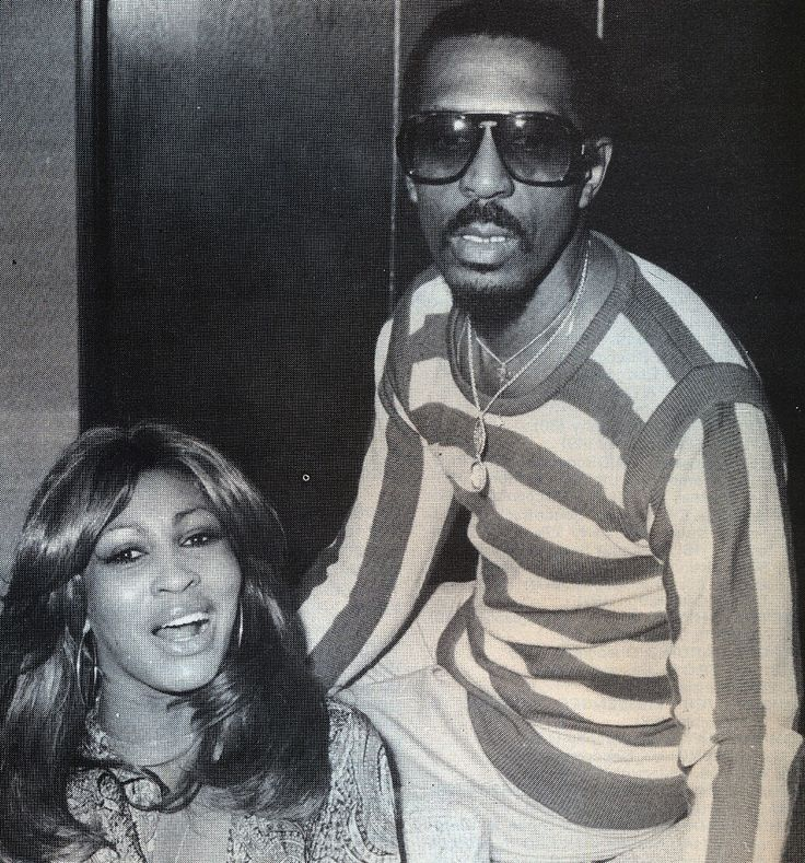 "Tina + Ike Turner. Too bad he was awful to her, and called her his ""meal ticket"". They did such great stuff together though."