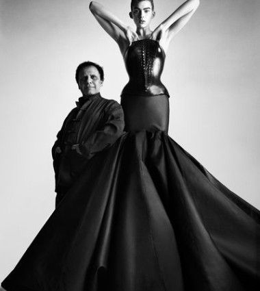 Alaïa dress © Patrick Demarchelier