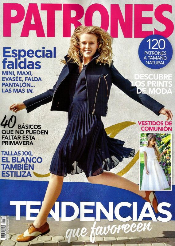 PATRONES revista 358 TENDENCIAS.-