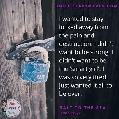 Salt to the Sea by Ruta Sepetys follows four young adults during World War II as they trek toward the Baltic Sea, hoping to board a ship and escape the advancing Russians. The historical fiction novel, told in alternating points of view, reveals the struggles of each of the narrators leading up to the deadliest maritime disaster in history. Read on for more of my review and ideas for classroom application.