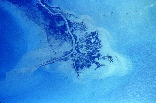 Mississippi River Delta, Longshore Current