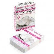 AMAZING CUNNILINGUS INSTRUCTIONAL DECK  - sex toys perth www.sextoysperth.com.au