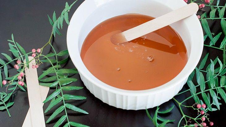 DIY Natural Sugar Wax for Hair Removal and Smooth Skin