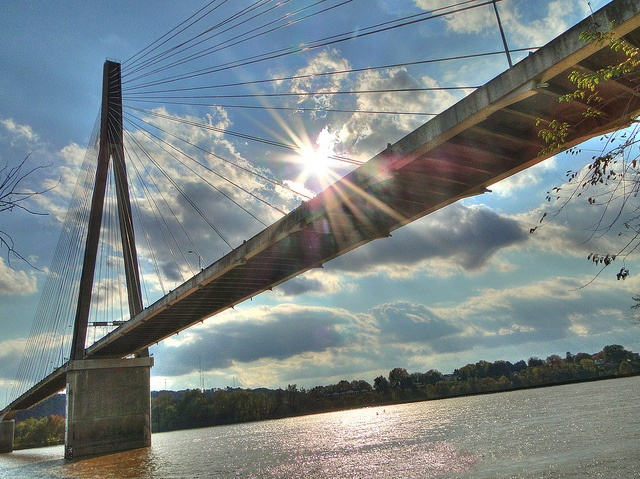 Huntington, West Virginia ♥and the bridge that connects With Ohio ♥this the bridge we cross to do most of our shopping
