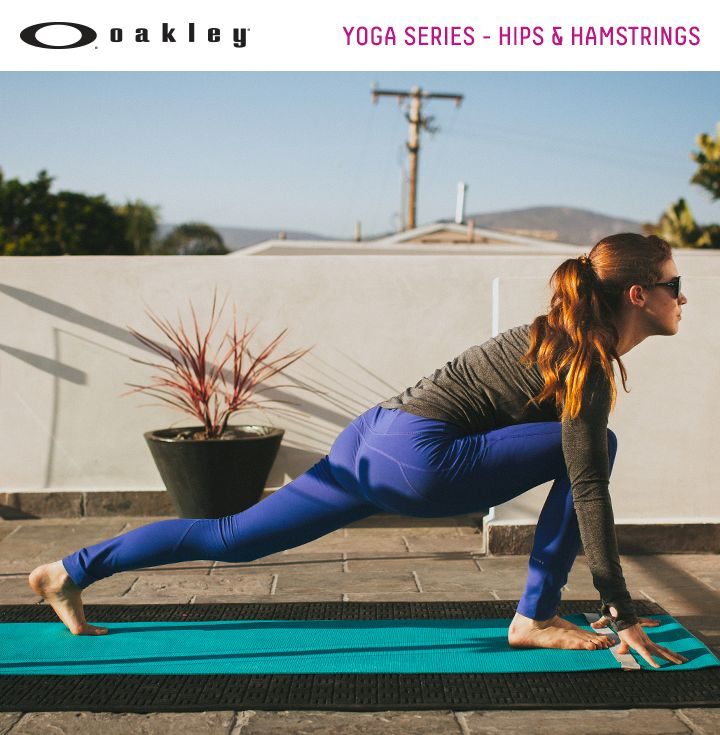 Yoga moves in this YouTube series to help you open your hips and lengthen your hamstrings. video. National Yoga Month