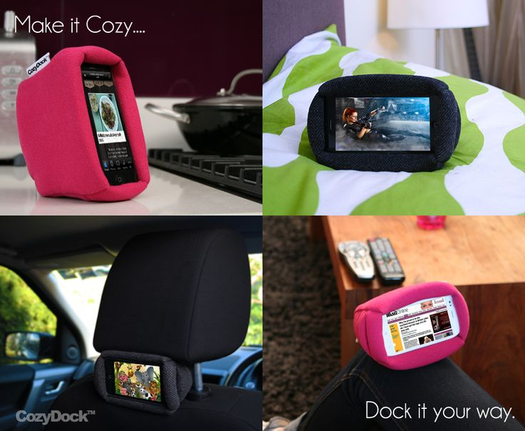 We Know you believe in comfort and we have a gadget for that! CozyDock.