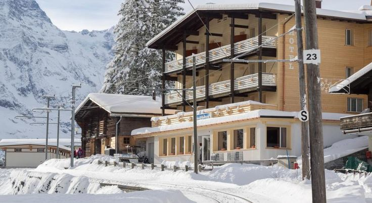 Hotel Alpenblick Mürren Mürren The Alpenblick hotel is a typical, quiet and small Swiss Chalet hotel in Mürren, offering superb views of the Eiger, Mönch and Jungfrau mountains.