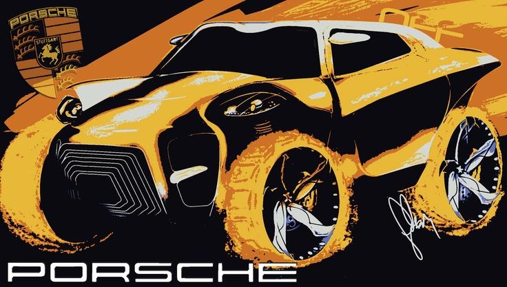 New concept of Porsche off-road