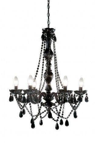 KARE Prague - Pendant Lamp Starlight Black 6-Branche