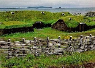 Anse aux Meadows - Newfoundland, site of first Vikings in N. America.