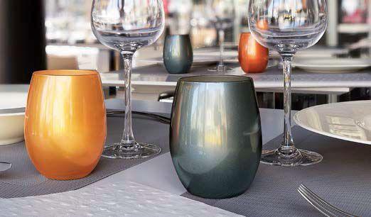 Bicchiere Primarific Oro-Argento-Rame