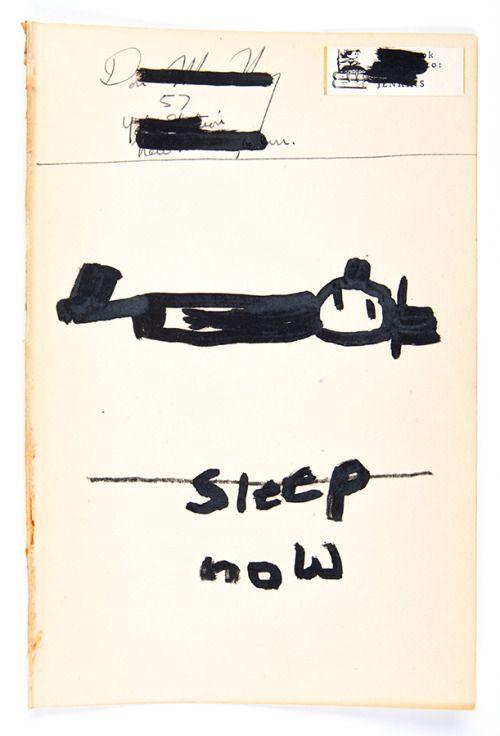 my dear friend Roger7 3/8″ x 5 7/8″ink, paper on paper1.2017w....