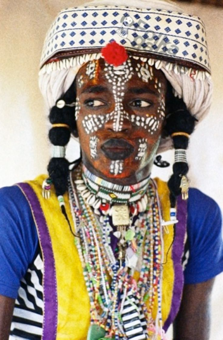 Africa | Wodaabe from Chad | © Marie-Laure de Decker.