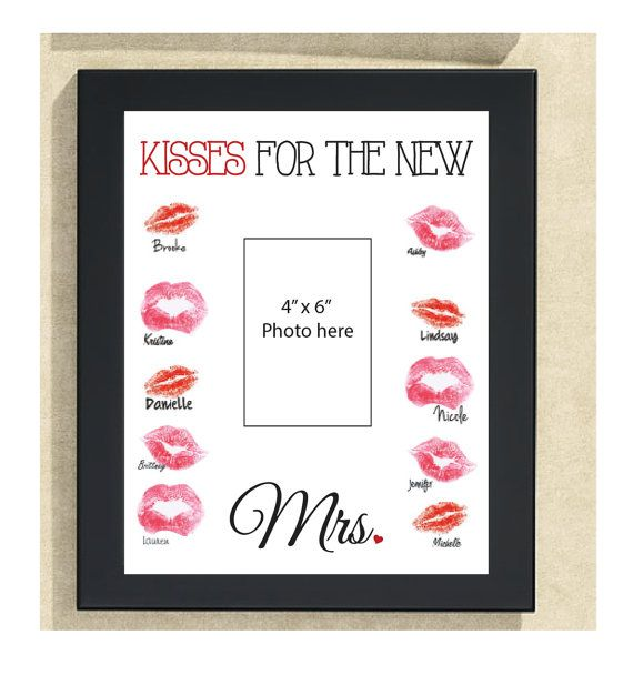 Kisses for the new Mrs. Bachelorette Sign 11 by DesignsByLindsayy