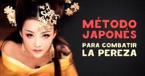 Método japonés para combatir la pereza o regla del minuto