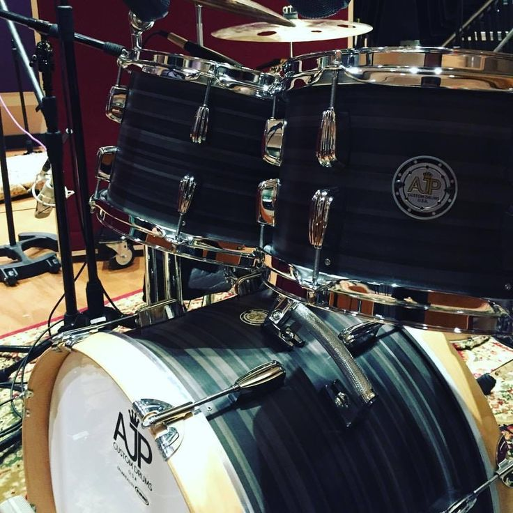 AJP Custom Drums Shell Pack For Sale (NO Snare)