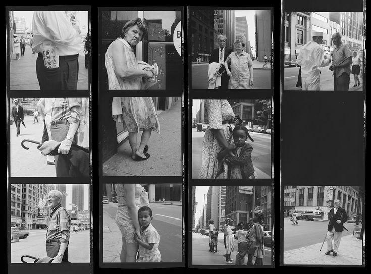 Vivian Maier Contact Sheet | Chicago, IL VM19XXW03095