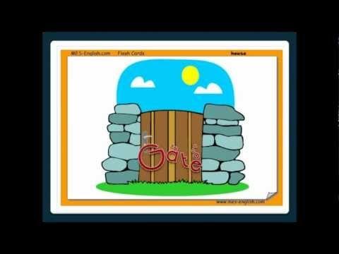 ▶ Parts of the House -English Language - YouTube
