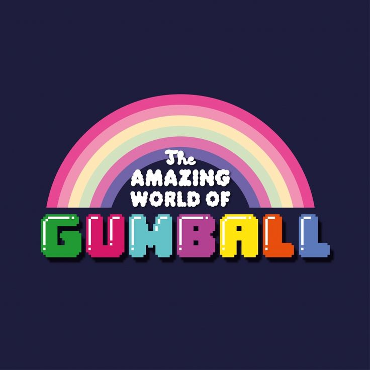 Another one of my favorite cartoon shows of this century... The Amazing World of Gumball