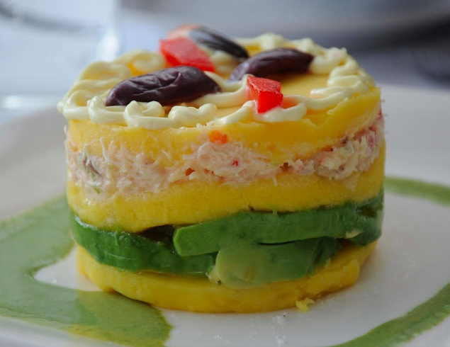 208 best peru gourmand images on pinterest meals recipe and causa rellena pollo peruvian cuisine recipe cause stuffed chicken forumfinder Images