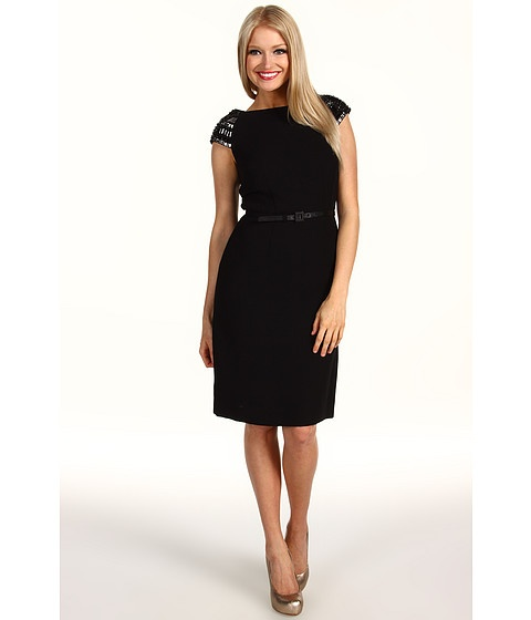 "Tahari by ASL Ivan Cap Sleeve Belted Dress | ""Fashions fade. Style ..."