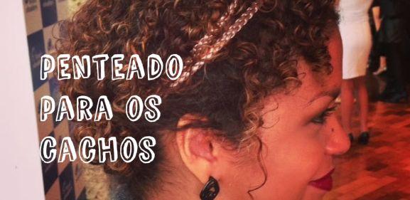 Cinthya Rachel » Penteado rápido e fácil para cabelos cacheados