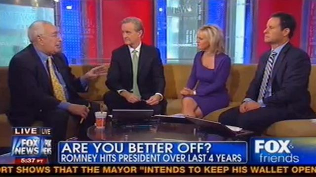 Ben Stein Tells Incredulous Fox & Friends Hosts Taxes Are Too Damn Low