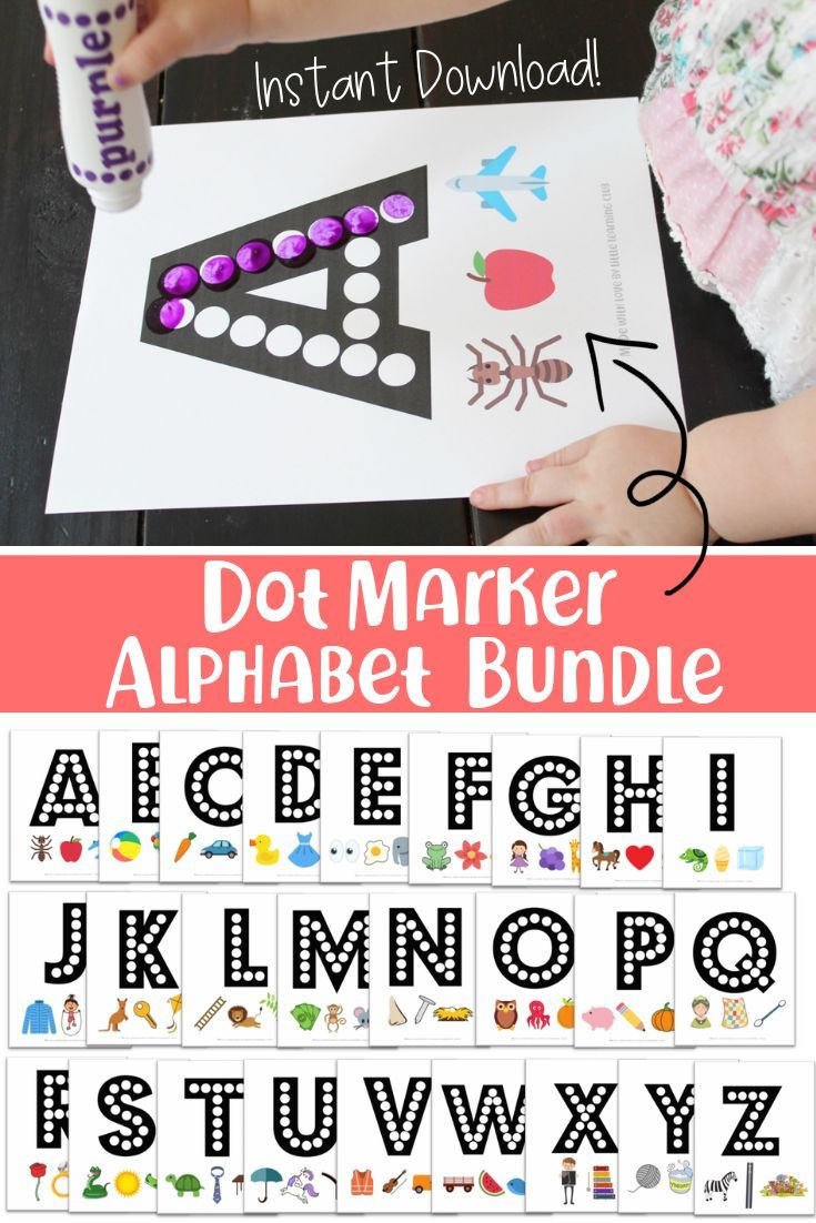 Activities To Help Toddlers Learn The Alphabet And The Sounds Each