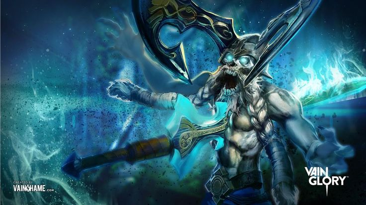 My sec fav character from vainglory