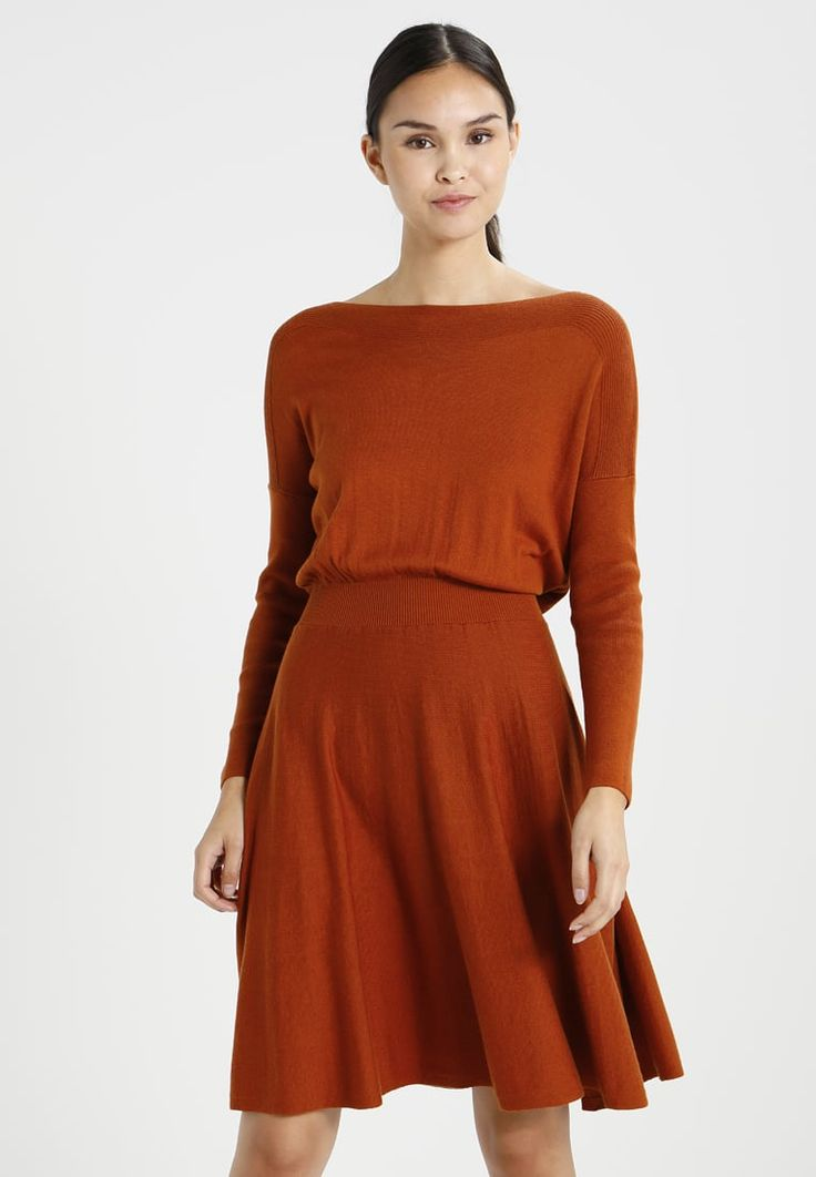 mint&berry WAISTED BATWING  - Jumper dress - ginger bread for £41.99 (22/12/17) with free delivery at Zalando