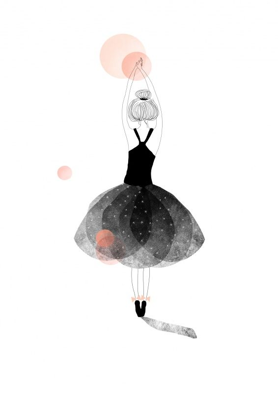 My Lovely Thing 'A3 Prent Ballerina'