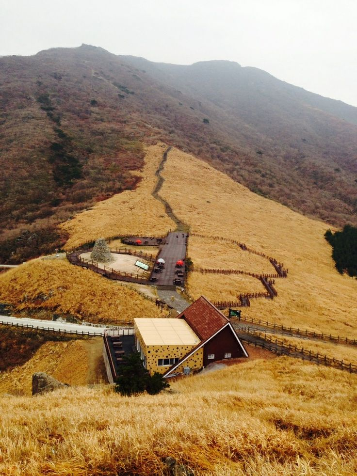 Backpacking. Ganwoljae Hill,   South Korea